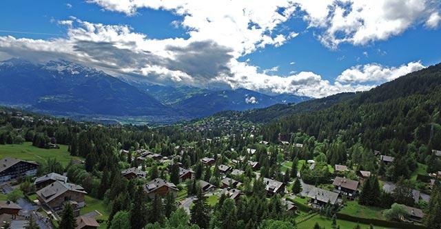 Шезьер, Швейцария