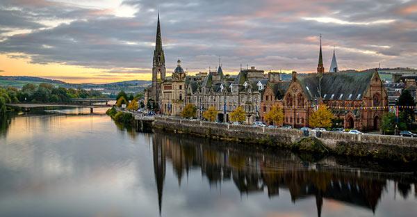 Пертшир, Шотландия