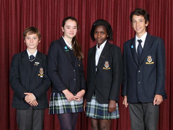 Ученики Королевского колледжа в Мадриде