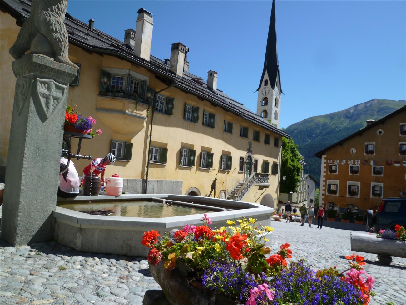 Цуоц, Швейцария